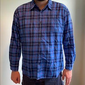 XXL Men's long sleeve flannel